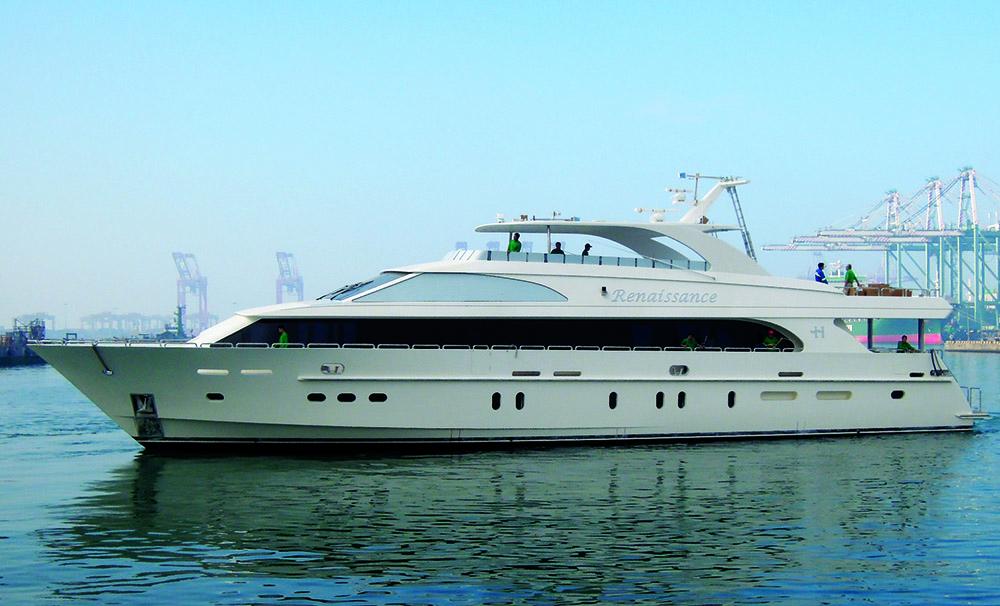 Renaissance adlı tekne bu yıl Miami Boat Show'da sergilenecek.