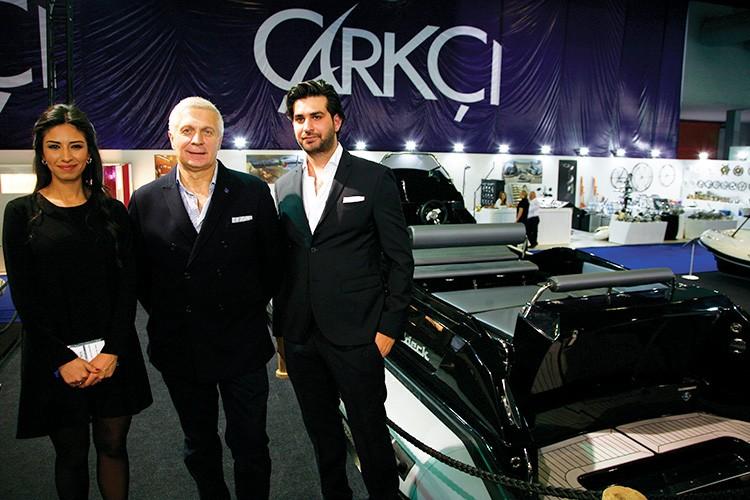 Aslıhan Çarkçı, Piero Formenti ve Furkan Çarkçı.