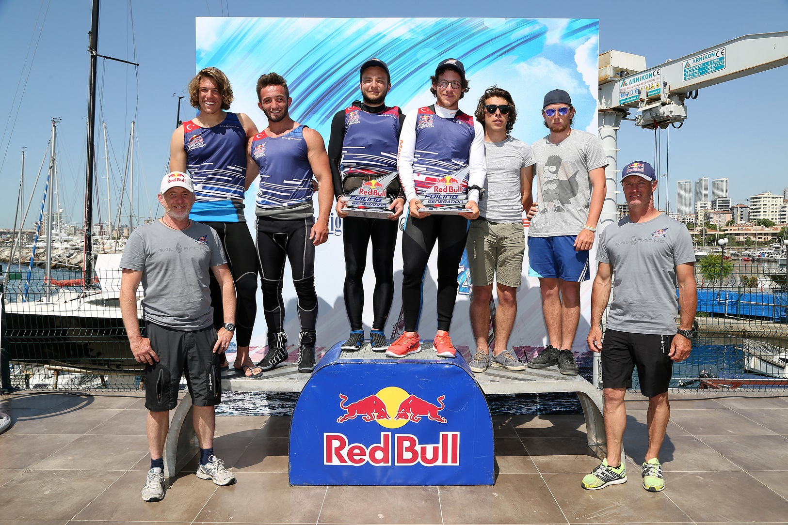 Red Bull Foiling Generation İstanbul