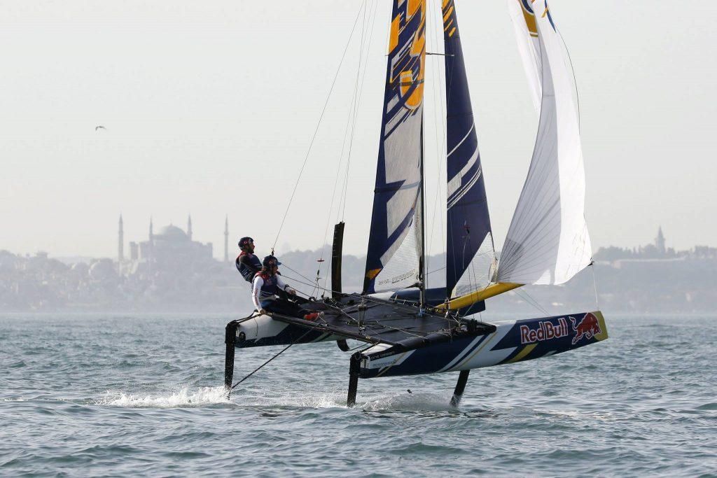 İstanbul'da Red Bull Foiling Generation rüzgârı