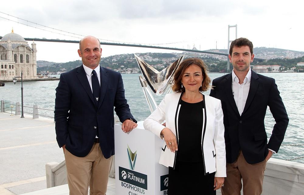 Orhan Gorbon (ORG Sports Management), Dilara Demir Kısakürek (Turkcell Platinum), Thibault Tallieu (Hydros Foundation)