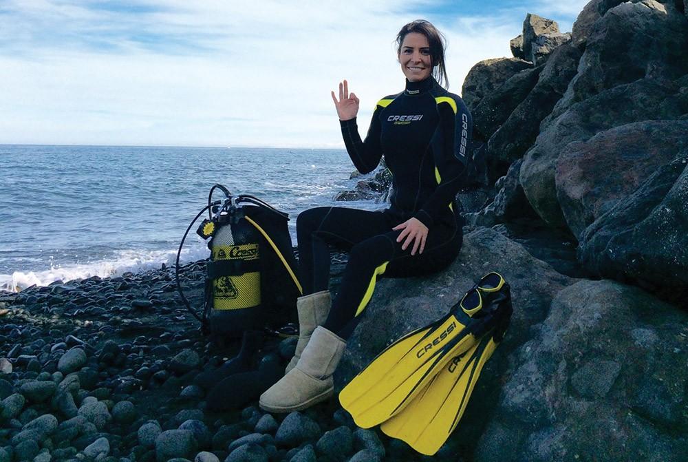 Antarktika'daki ilk Türk kadın