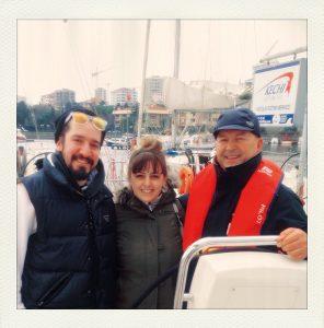 İşte gurur tablosu. Soğuğa, açlığa aldırmadan çıktık ve Kechi Sailing ekibinden kaptanımız Süleyman Er'in yüzünü kara çıkarmadan geri dönmeyi başardık.