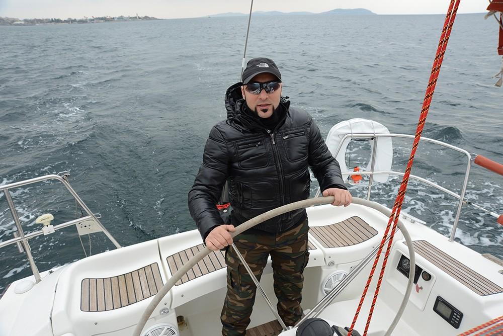 Deniz benim için zor bir serüven (Hayko Cepkin)