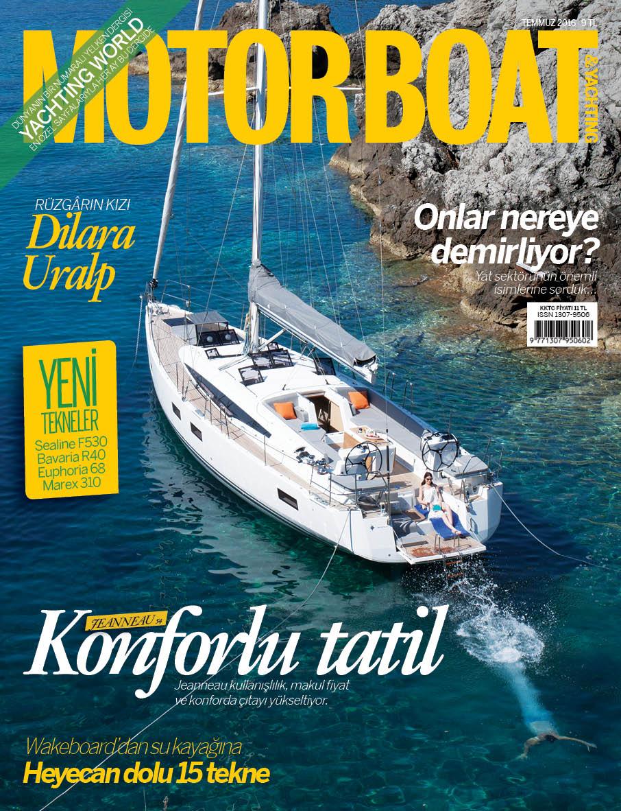 Motor Boat & Yachting Türkiye-Temmuz Sayısı