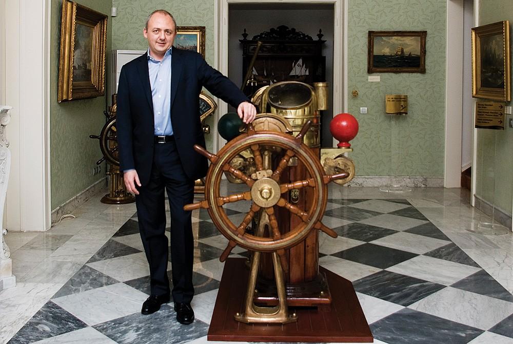 Arkas Denizcilik, Bernard Arcas röportajı