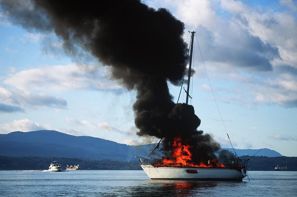 Teknede güvenlik – Eyvah yangın