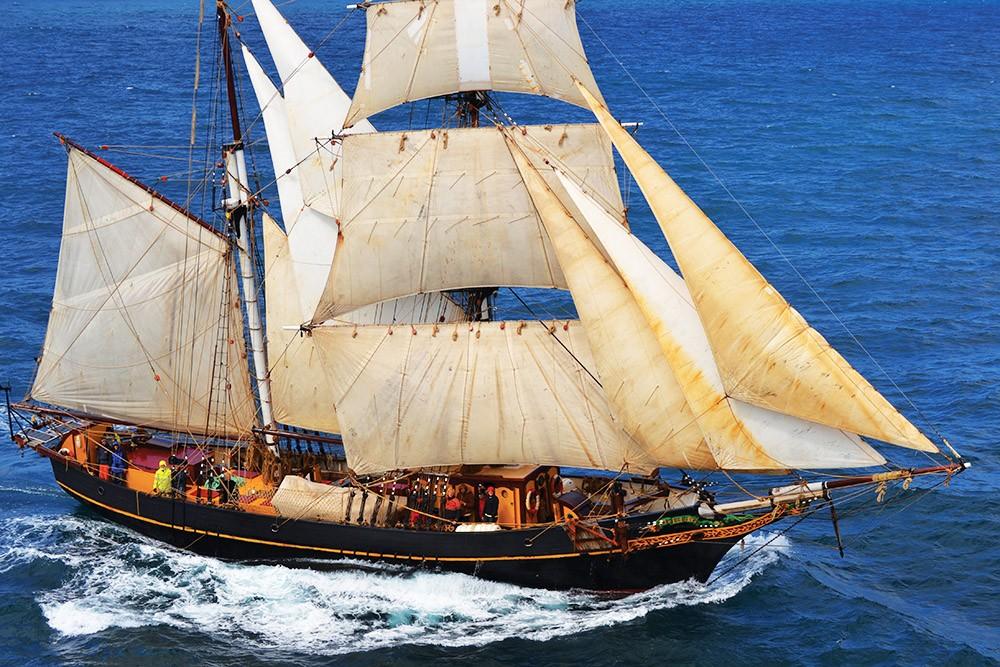 Rüzgâr hızında kargo gemileri