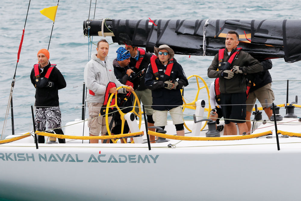 Deniz Kuvvetleri Kupası - Güney Yarışı güvenlik kontrol 2017