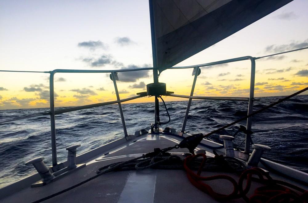 Uzun seyir psikolojisi - Atlantik Geçişi