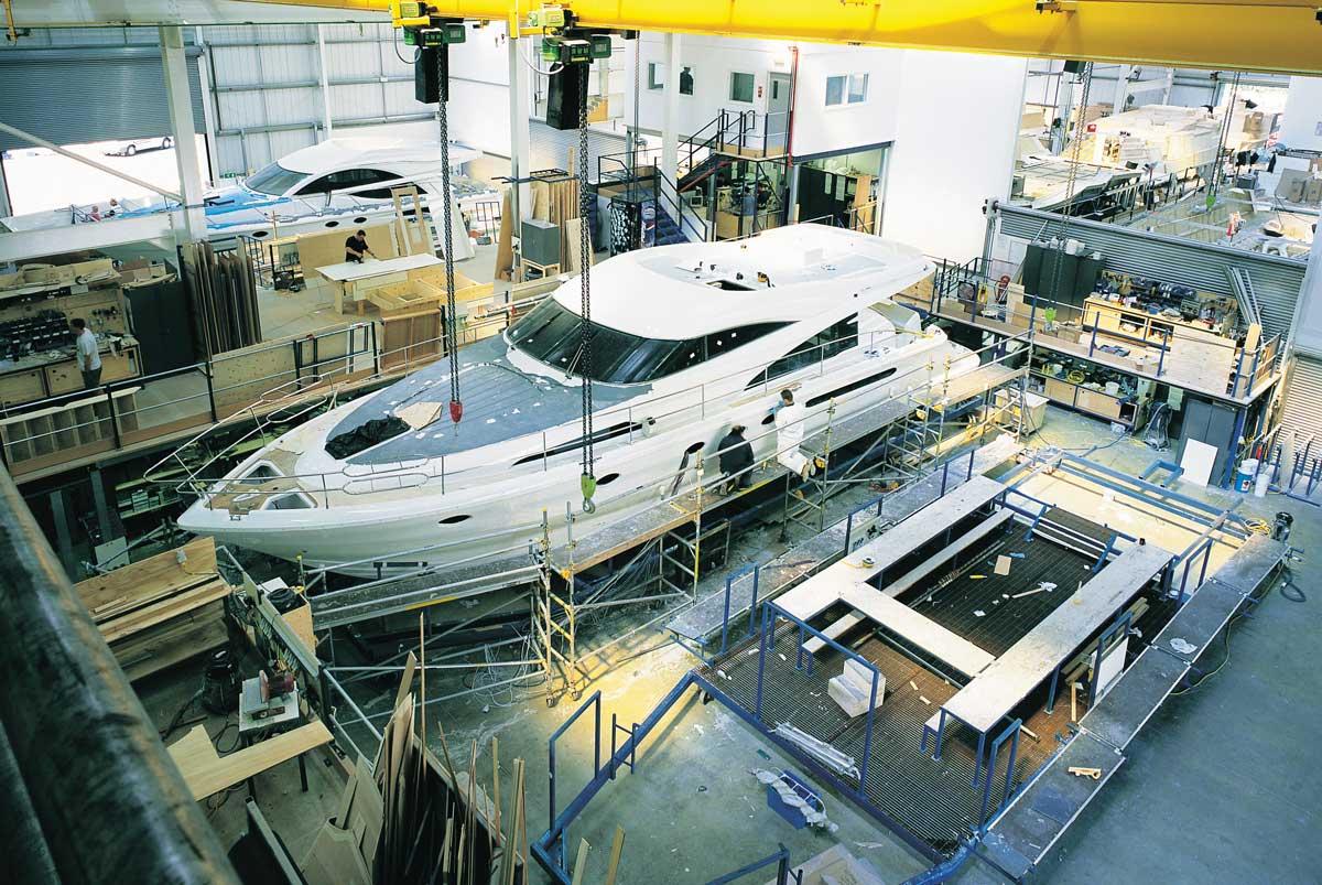 Fairline Yachts'a yeni tesis