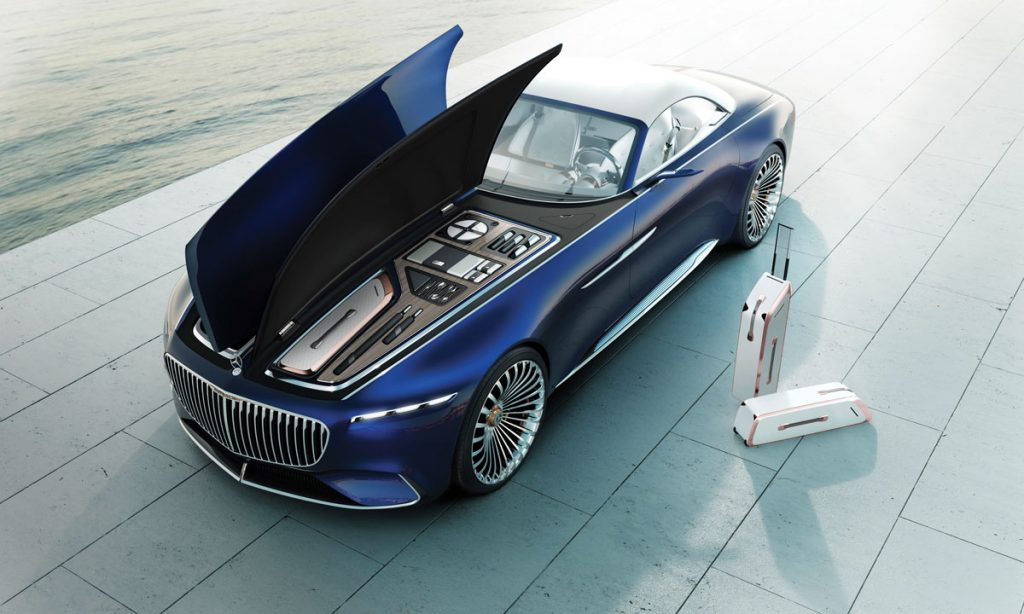 Mercedes Maybach 6 Cabriolet, Mercedes