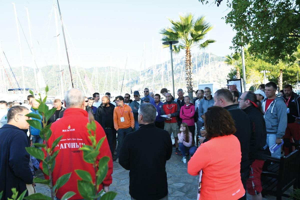 15. AUDI Sonbahar Göcek Yarış Haftası 1O Kasım Atatürk Kupası Yelken Yarışları