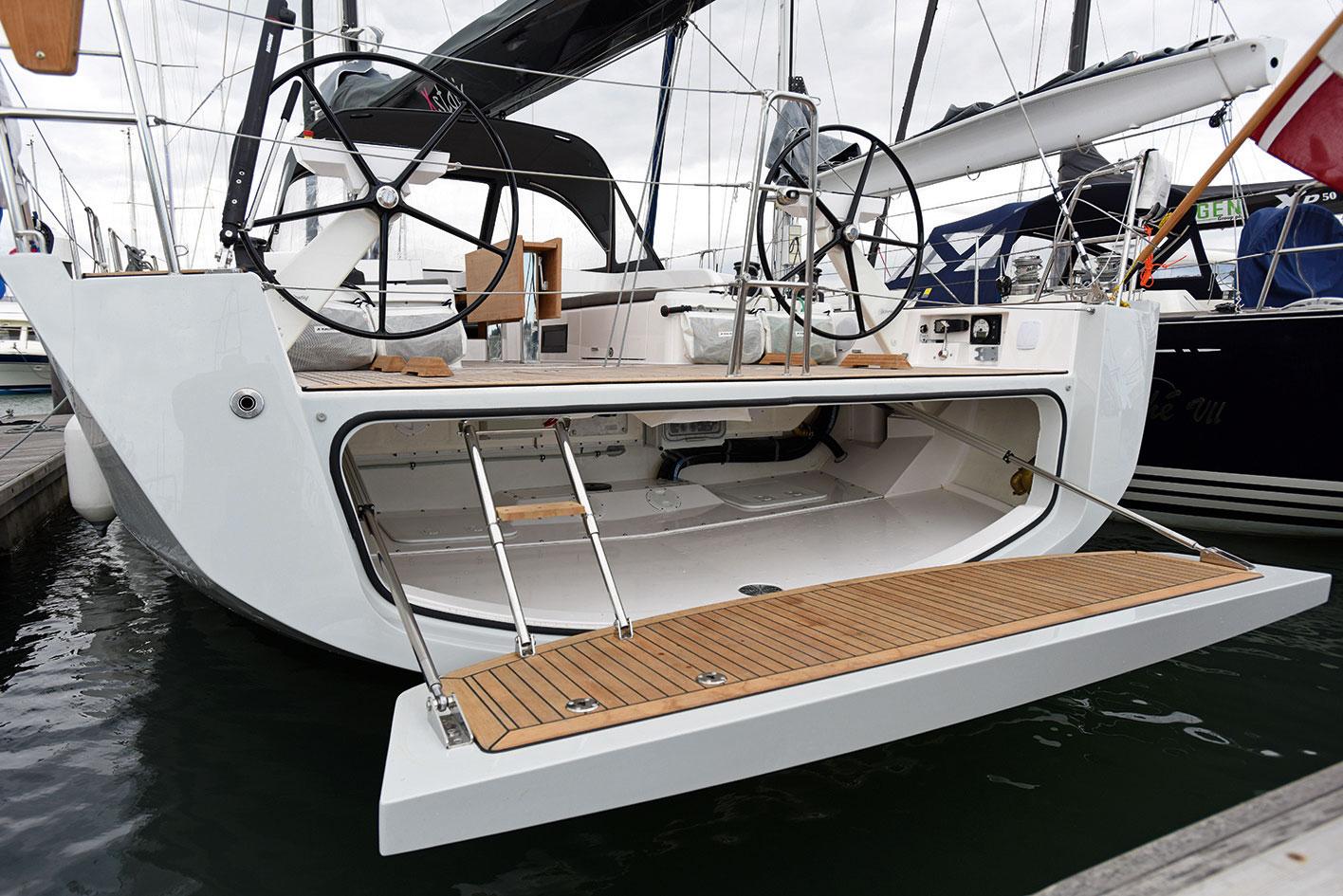 X-Yachts X49 bot garaji