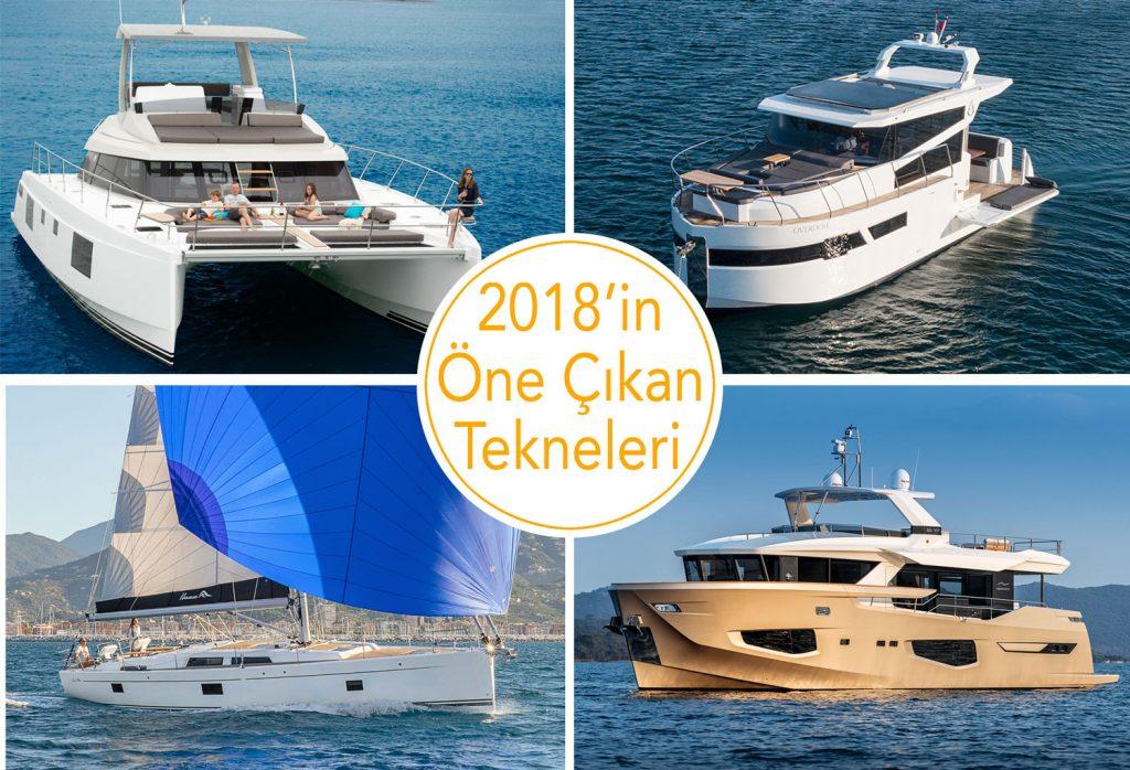 2018'in Öne Çıkan Tekneleri