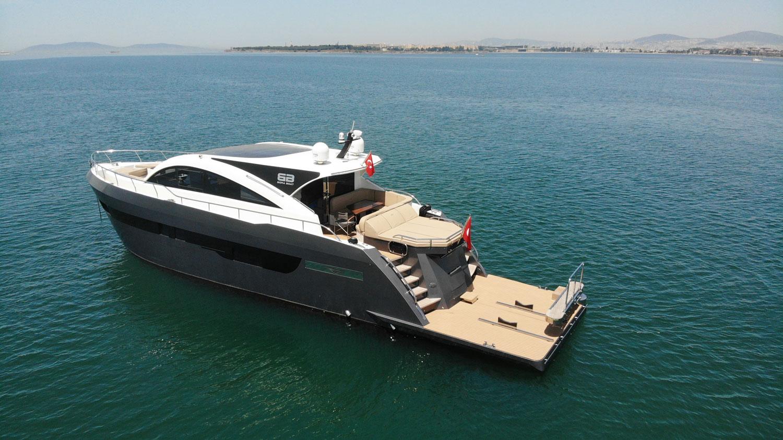 Bora Boat - Pars 62 Test
