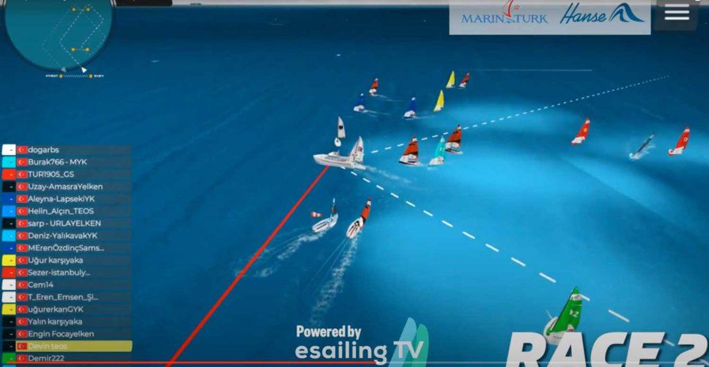 Yelkenciler Marintürk Kupası'nda yarıştı