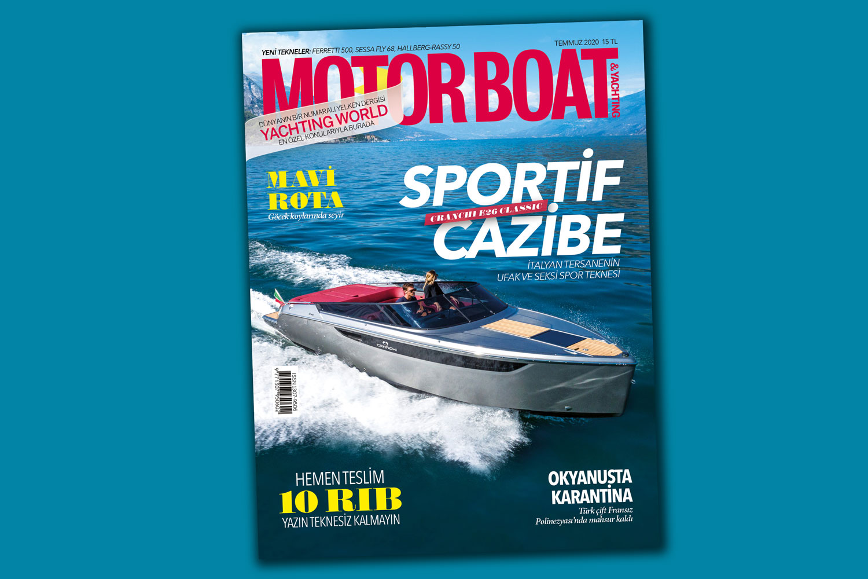 Motorboat & Yachting - Temmuz 2020 Kapak