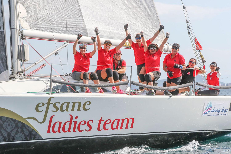 Deniz Kızı Kadın Yelken Kupası - Eker Kadın Yelken Takımı