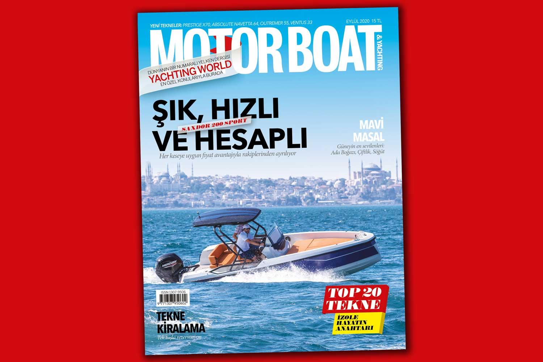 Motorboat & Yachting - Eylül 2020 Kapak