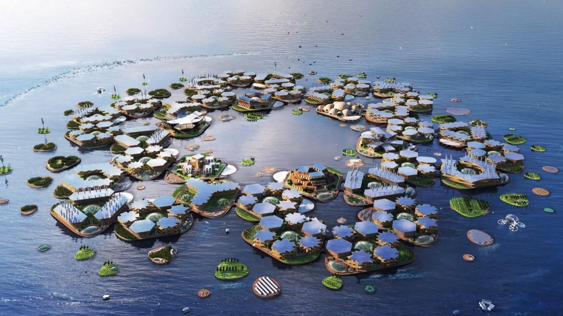 Yüzen Adalar - Ocean City