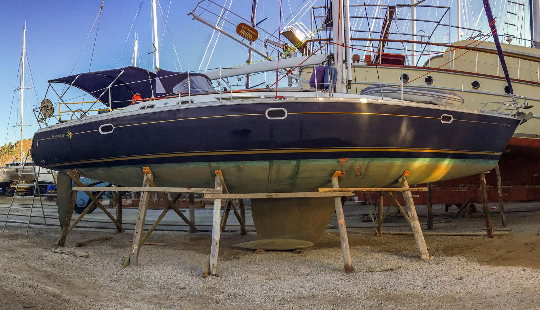 Karada kışlamada, teknenizin güvenliği için doğru taşıyıcı elemanlar kullanılmalı.