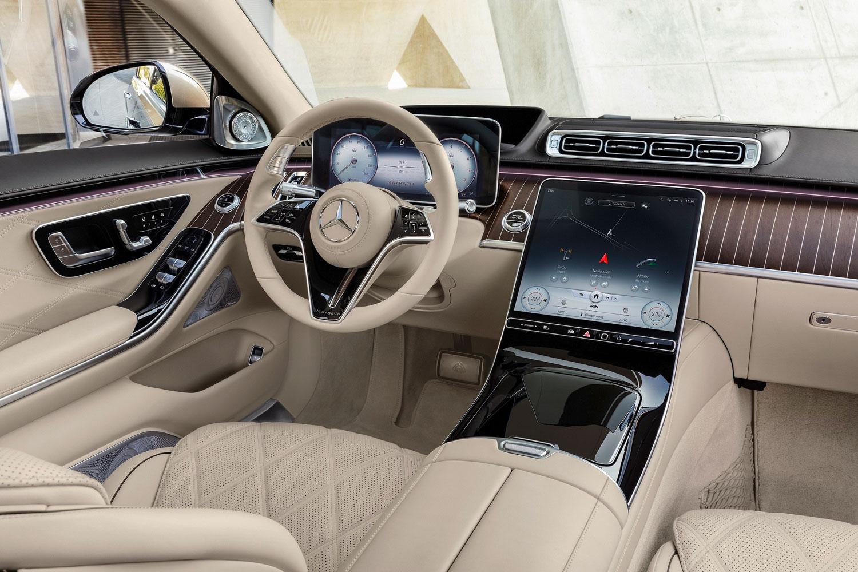 Yeni Mercedes Maybach S-Serisi Kabin