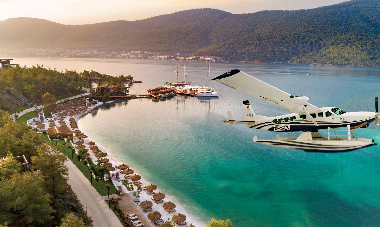 Lujo Hotel bodrum deniz uçağı hizmeti veriyor