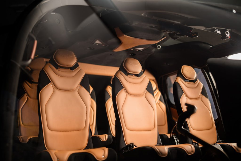 Aston Martin Edition - İç tasarım
