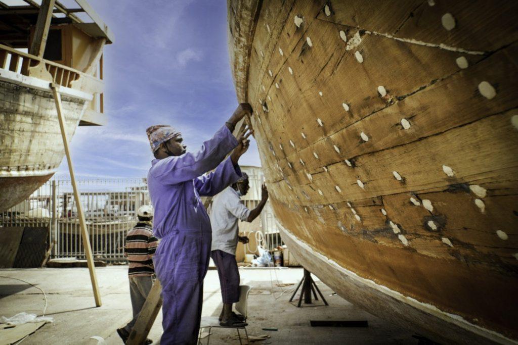 Tarihi Arap yelkenlileri Katar tarafından yeniliyor