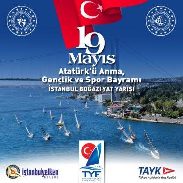 19 Mayıs Atatürk'ü Anma, Gençlik ve Spor Bayramı - İstanbul Boğazı yat yarışı