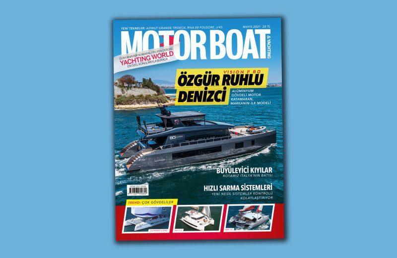 Motor Boat Yachting - 2021 Mayıs sayısı kapak