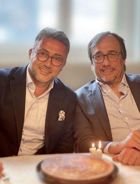 Massimo Perotti ve Murat Bekiroğlu