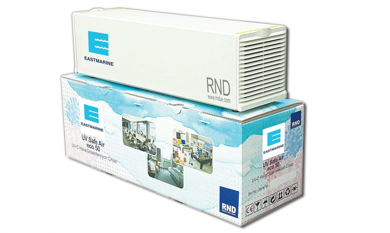 UV Safe Air hava dezenfeksiyon sistemi