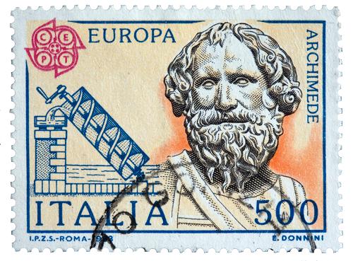 Dünyanın önemli bilim insanlarından Arşimet, M.Ö. 287'de Sirakuza'da (Sicilya) doğdu.