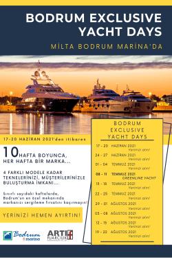 Bodrum Yacht Fest programı