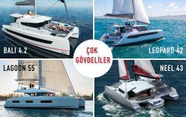 En yeni çok gövdeli yelkenli tekne modelleri