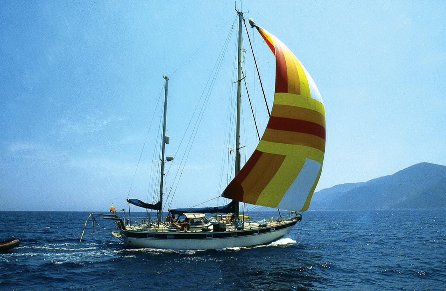 Haluk Karamanoğlu'nun teknesi Deriska