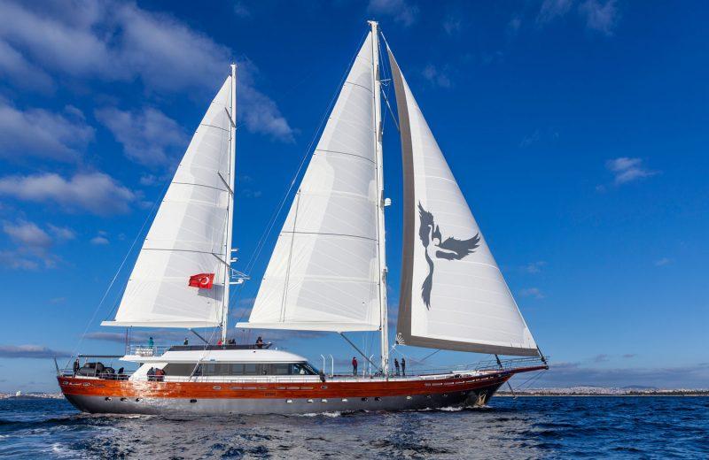 UK Sailmakers'tan megayat yelkenleri için etkin çözümler