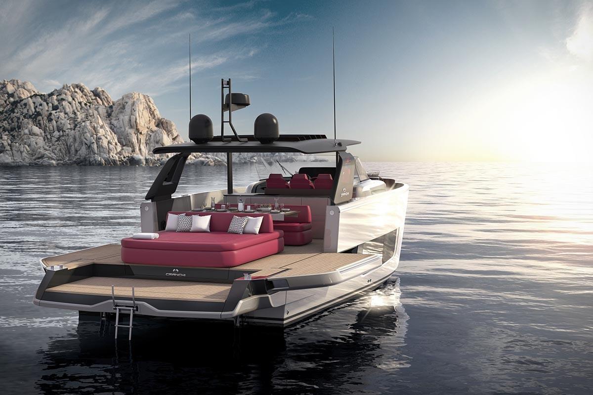 Yenilikçi Cranchi A44 Luxury Tender