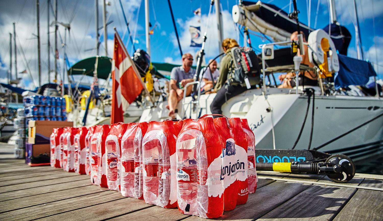 Teknede içme suyu - Şişe sorunu