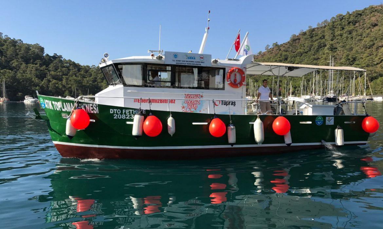 TURMEPA tekneleri sezonu açtı