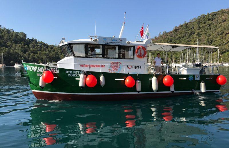 TURMEPA atık toplama tekneleri