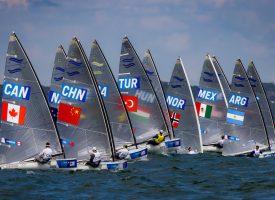 Tokyo 2020 yelken yarışları sürüyor
