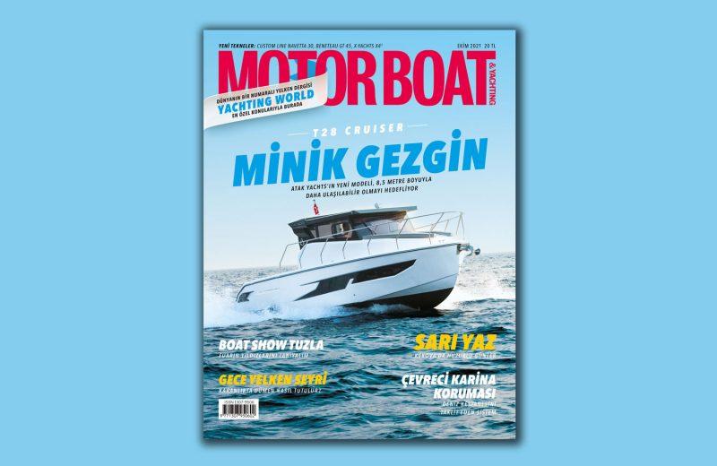 Motor Boat Yachting - 2021 Ekim Kapak